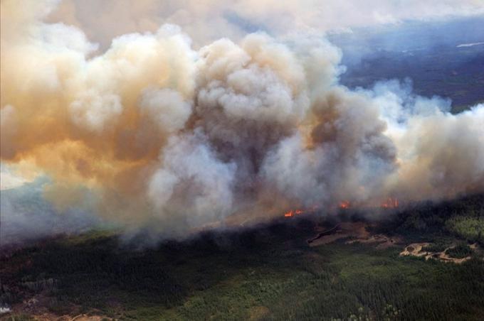 面对今年入夏以来持续肆虐的山林大火,加拿大西部的卑诗省进入紧急状态